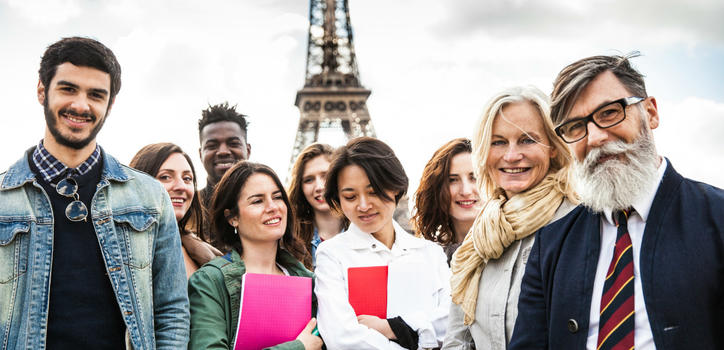 La France pays multiculturel accueille plus de 300 000 étudiants internationaux